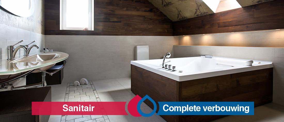 Badkamer verbouwen door de installateur uit Boekel